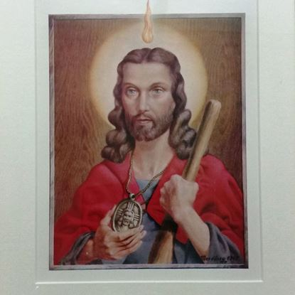 Picture of Framed picture of Saint Jude