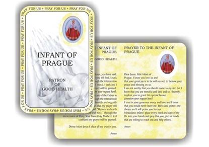 Picture of Infant of Prague prayer booklet