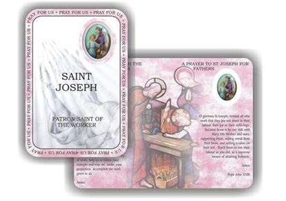 Picture of Saint Joseph the worker prayer booklet