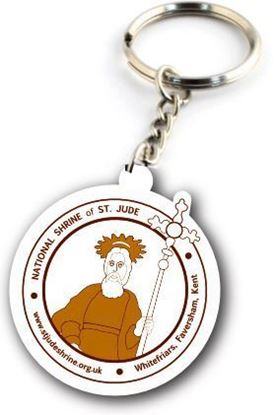 Picture of Shrine of Saint Jude keyring