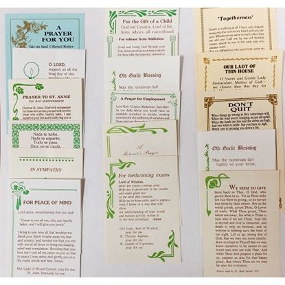 Picture of Pack of prayer cards