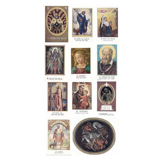 Picture of Pack of saint prayer cards