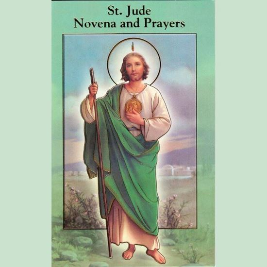 Picture of Saint Jude novena and prayer booklet