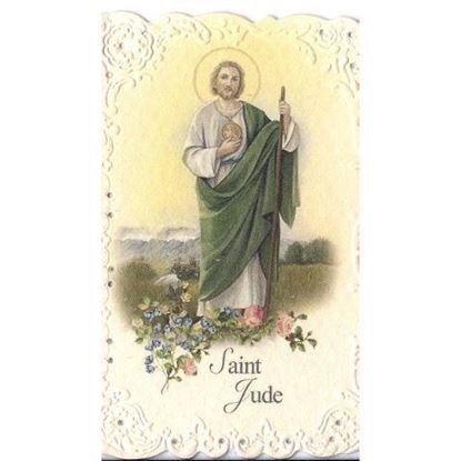 Picture of Saint Jude prayer card - Italian paper