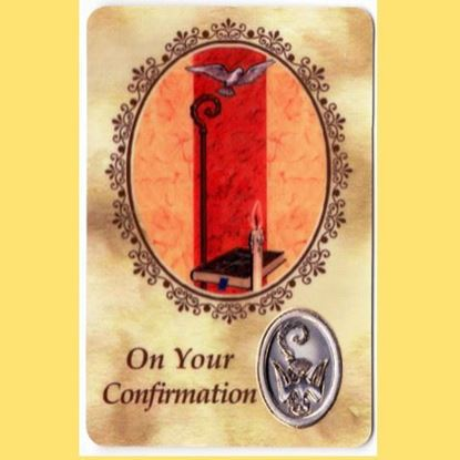 Picture of On Your Confirmation prayer card