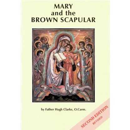 Picture of Mary and the Brown Scapular