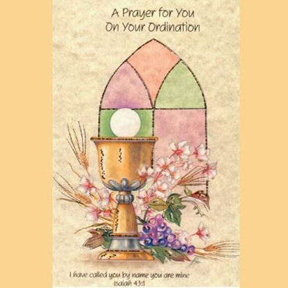 Picture of A Prayer for you on your Ordination card